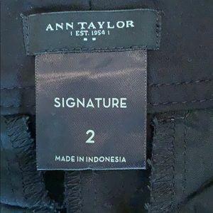 Ann Taylor Shorts - 3/$15 Ann Taylor | Signature Black Cotton Bermudas